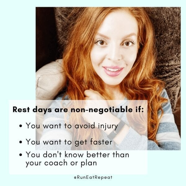 Why Take Rest Days for Runners