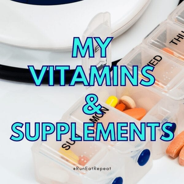 Runner Vitamins and Supplements