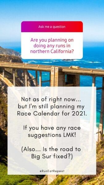 Corre, come, repite la carrera del norte de California