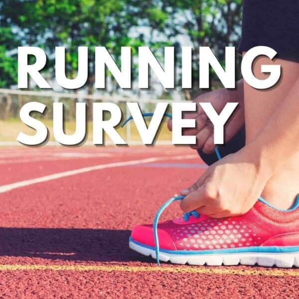 Running Blog Survey