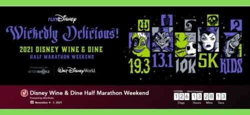 Run Disney Half Marathon Race 2021