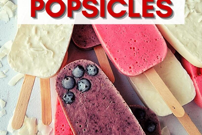 Easy Yogurt Popsicles Recipe