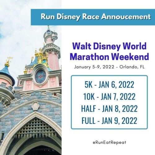 Disney World Marathon 2022