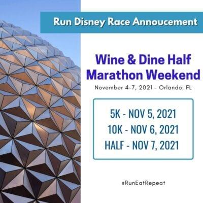 Run Disney Race Announcement 2021