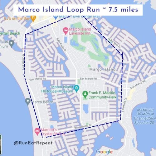 Where to Run Marco Island, FL
