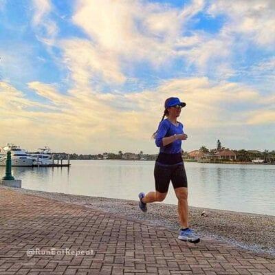 Running on Marco Island Florida 2021
