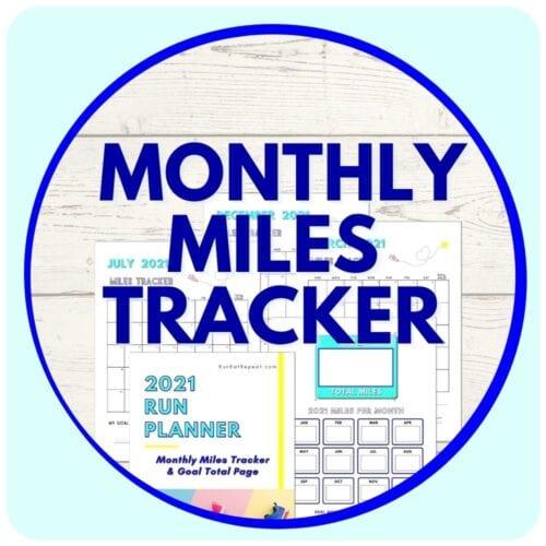 Running Miles Tracker 2021