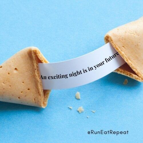 Instagram funny fortune @RunEatRepeat