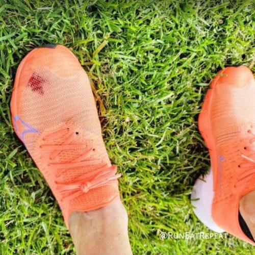 Blog de entrenamiento de maratón Fallo del calzado para correr