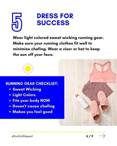 7 trucos de verano para correr Run Fitness Influencer RunEatRepeat.com