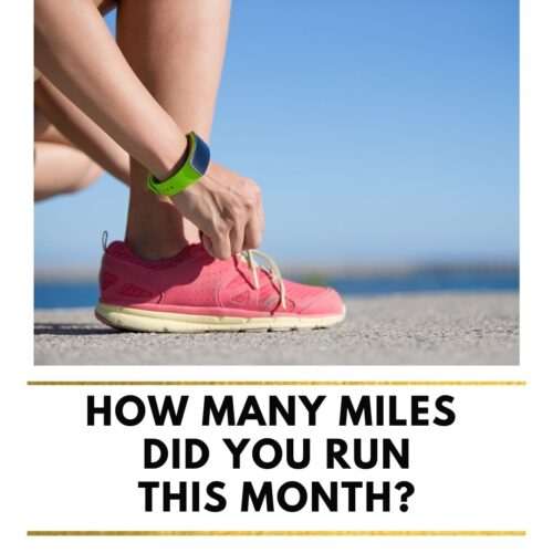 monthly miles template running influencer update
