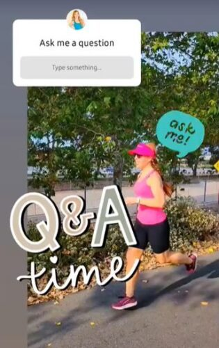 Running questions and answers