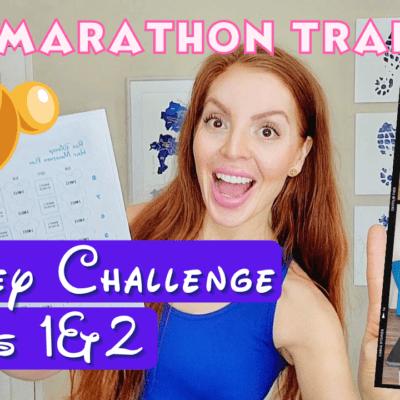 Disney World Marathon Training Weeks 1 & 2