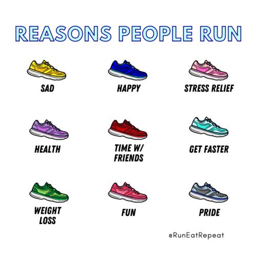 Reasons People Run meme