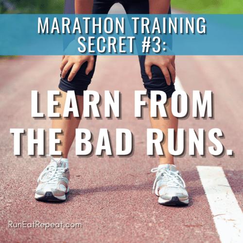 Marathon Training Secret 3