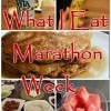 10 Things You Must Eat Before The Marathon Or the Sky Will Fall! That, or my own Pre-Race Diet…